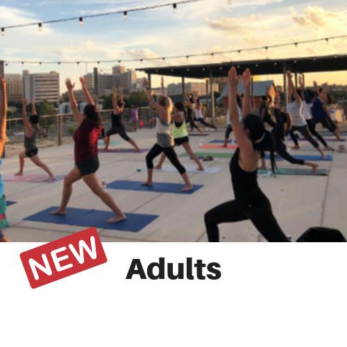 Sunset Rooftop Yoga Class