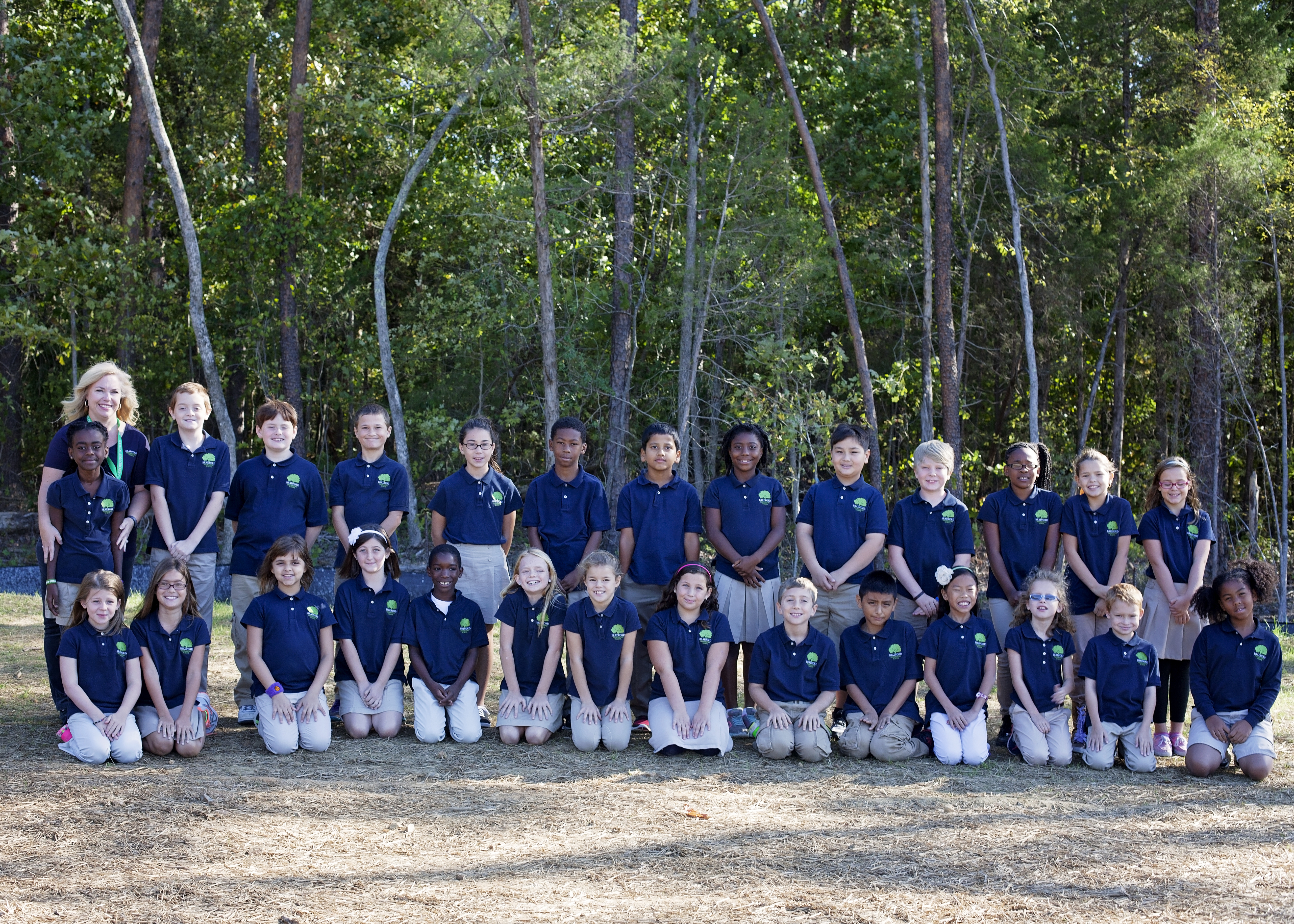 Package 5: (1) 5X7 Class Picture (Only for Grades K-4)  5th - 12th does not take a class picture