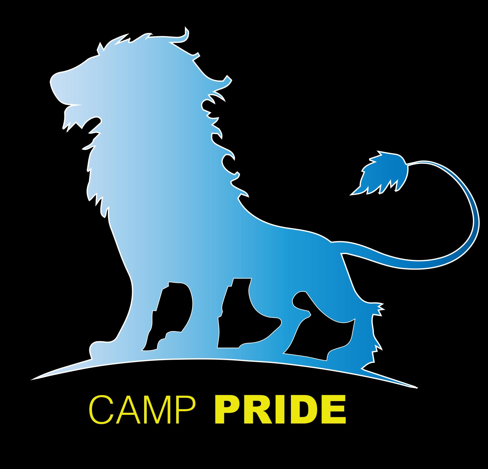 Navy Blue Camp Pride Sweatshirt, size YOUTH XL