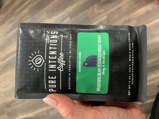 12 ounce bag of Pure Intentions Coffee Beans